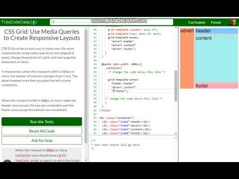 CSS Grid Use Media Queries to Create Responsive Layouts free code - Responsive Media