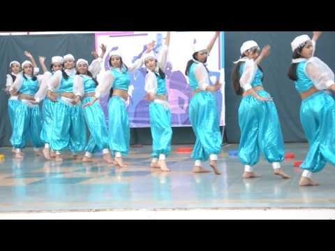 Arabian Dance By Girls Of The Gurukul Sector 20 Panchkula.AVI
