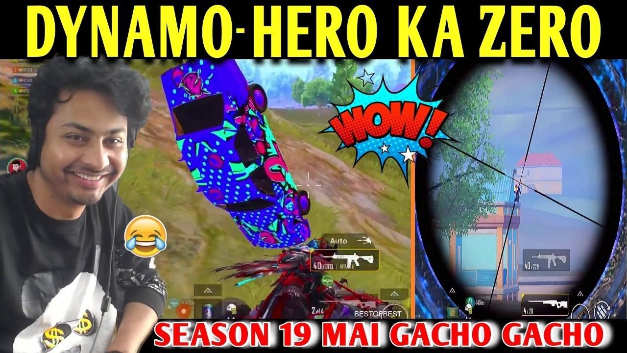 DYNAMO - HERO KA ZERO | BATTLEGROUNDS MOBILE INDIA | BEST OF BEST