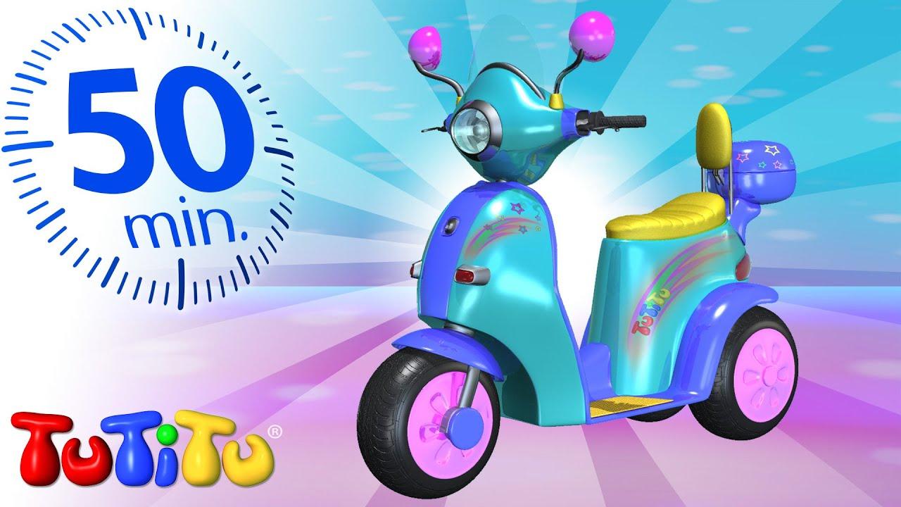 Tutitu deutsch motorroller und andere spielzeug auf