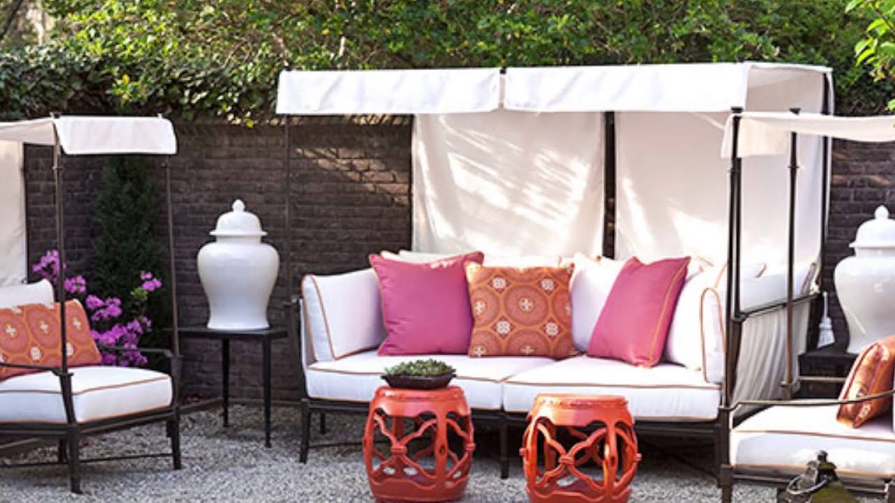 Help Me Bhg How Do I Find The Right Patio Furniture Youtube