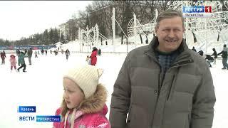 В Казани провели мастер класс по фигурному катанию