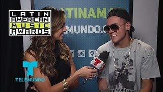 Kevin Roldan habla de su participación en los Latin American Music Awards | Telemundo
