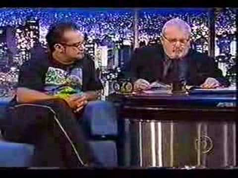 Regis Tadeu no Jô Soares -  1