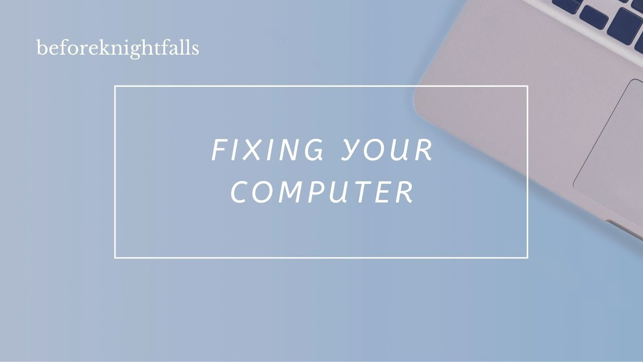 ASMR Boyfriend: Fixing Your Computer