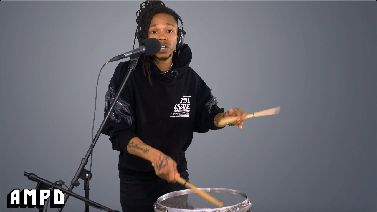 Malik DOPE x AMPD drum + rap freestyle