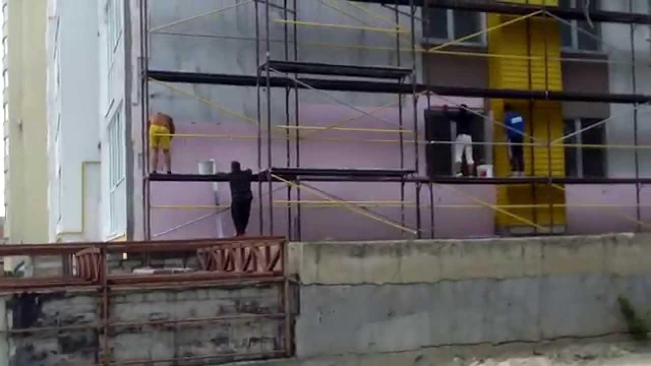 Șantier periculos la Botanica Chișinăului