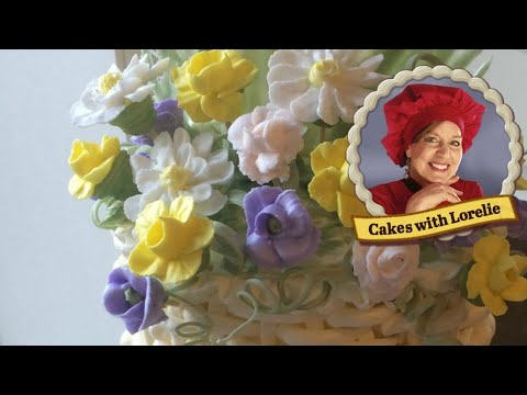 Royal Icing Flowers For Cake Decorating - Old School Cakes
