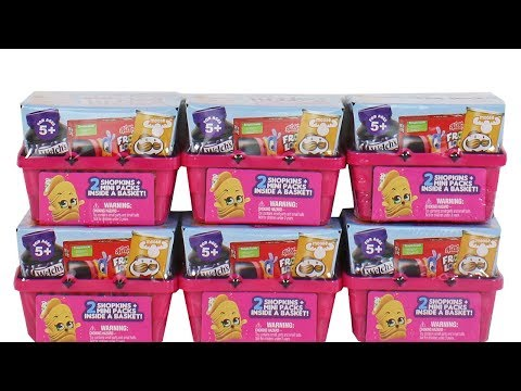 Shopkins Real Littles Blind Box Unboxing Toy Review
