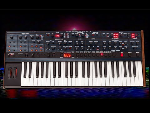 Synthwave heaven with the DSI OB6