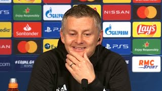 PSG 1-2 Man Utd - Ole Gunnar Solskjaer - Post Match Press Conference - Champions League