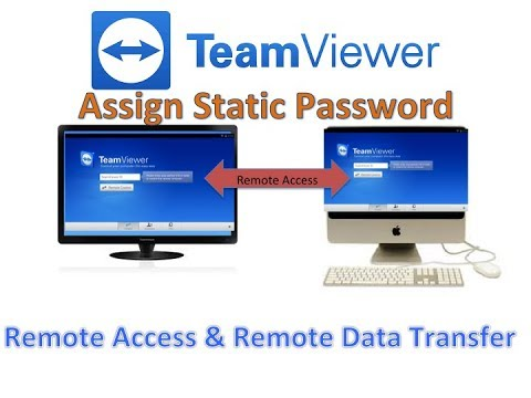 How To set Static password on TeamViewer