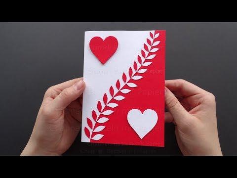 Karten Basteln Mit Papier Bastelideen Geschenke Selber