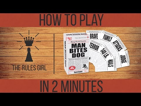 How to Play Man Bites Dog in 2 Minutes - The Rules Girl