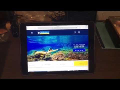Royal Caribbean TV, WiFi and texting hack