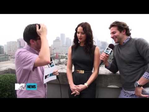 Jennifer Lawrence and Bradley Cooper at TIFF 1
