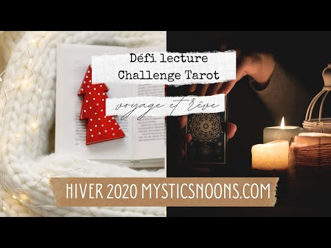 CHALLENGE TAROT-ORACLE + DEFI LECTURE HIVER 2020