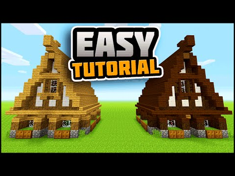 Download Minecraft How To Build A Small Rustic Cottage