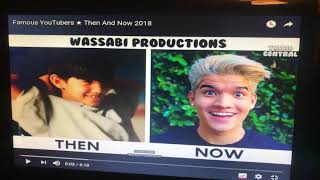 Famous YouTube th n and now 2018