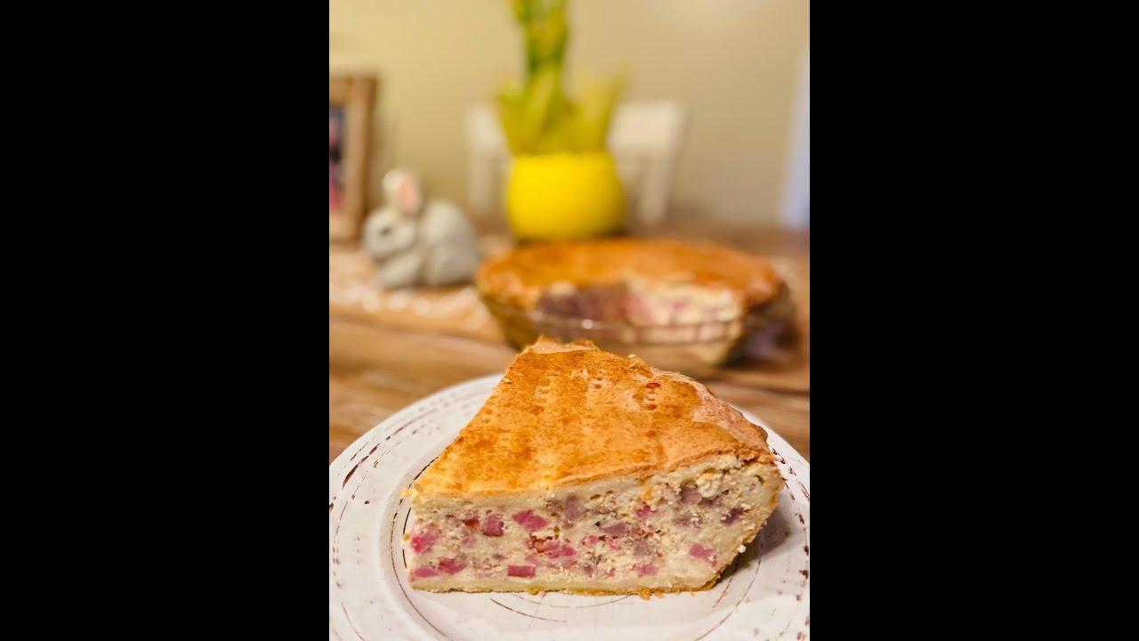 Pizza Rustica Aka Pizza Gaina Aka Easter Pie Now That S Italian U Had Me At Kitchen Youtube