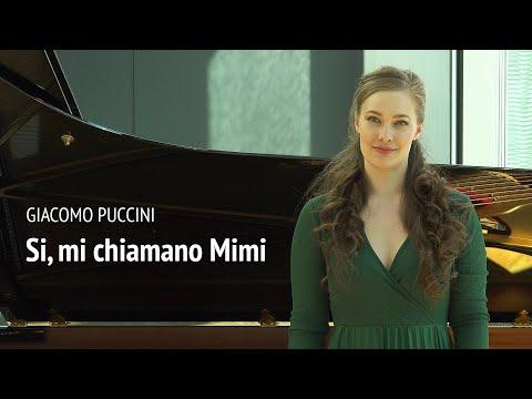 G. Puccini: Si, mi chiamano Mimi