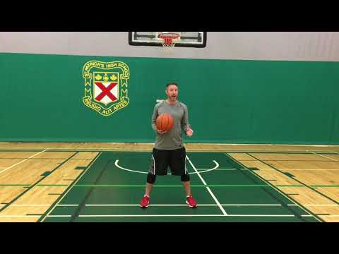 60 Second Lesson - How to Pass the Basketball: Fake High to Pass Low
