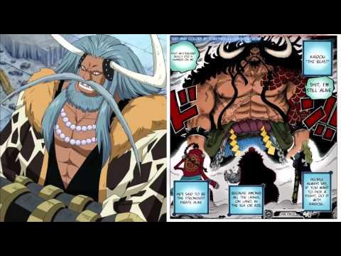 One Piece Avalo Pizarro y su Parecido con el Yonko Kaido