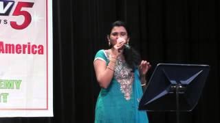 Pranavi sings