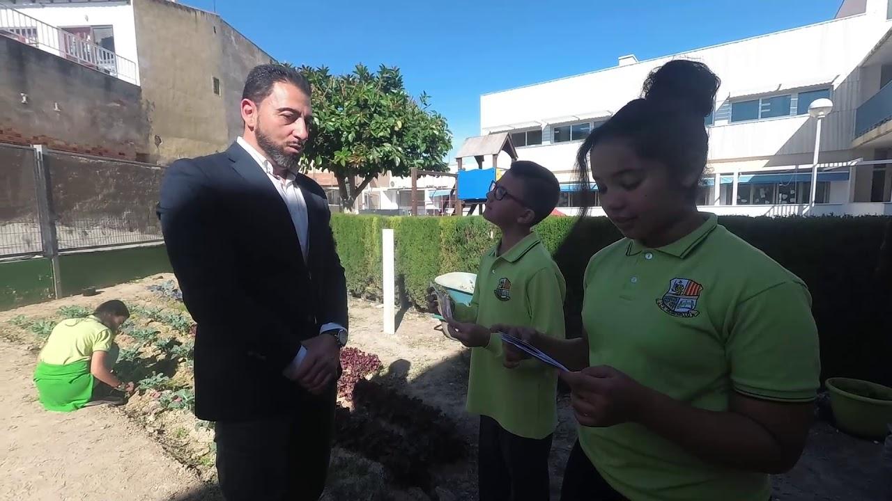 Entrevista a Damaso Aparicio sobre el Palmeral de Orihuela