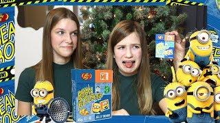 MINIONKOWA EDYCJA - Bean boozled challenge special!