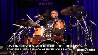 Savion Glover and Jack DeJohnette - December 14 at Kingsbury Hall