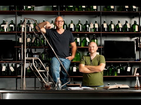 Food on Film: St. George Spirits' Lance Winters and Dave Smith