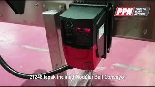 IOPAK Inclined Modular Belt Conveyor MBC-4000 [21248]