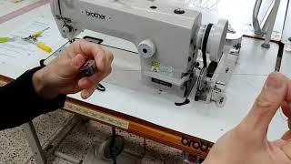 공업용 재봉틀 사용법
