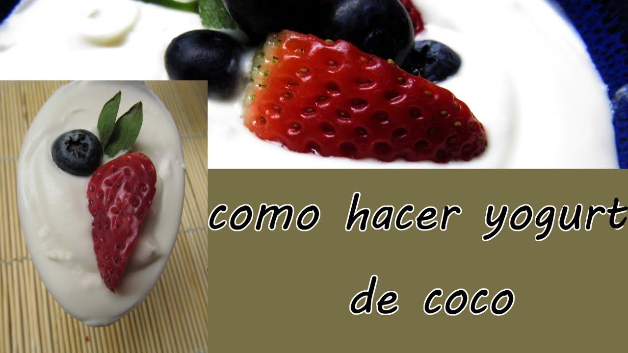Yogurt de coco #dairyfree #sinlacteos