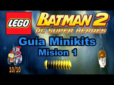 "LEGO Batman 2: DC Super Heroes - Guía Minikits - Misión 1:""Actividades Teatrales"" Full HD 1080p"