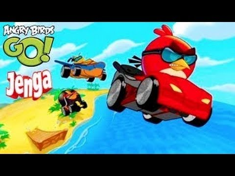 Angry Birds GO! Jenga All Characters Unlocked