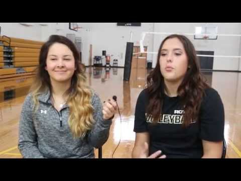 RCTV Show 1 Homecoming Reveal 2015 Royse City High School Volleyball