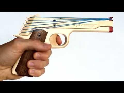 1911 Rubber Band Gun by Elastic Precision