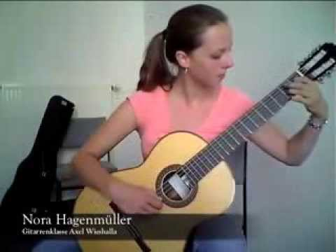 Nora Hagenmüller - Francisco Tárrega  -  Lágrima