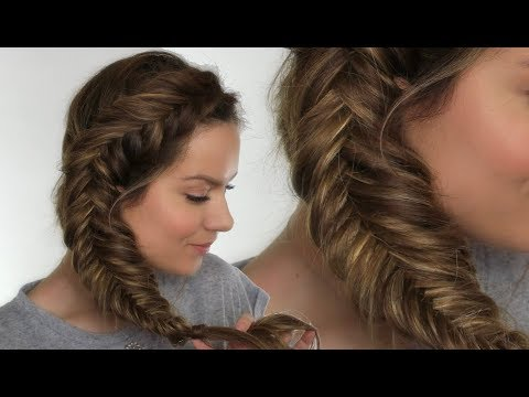 Dutch Fishtail Braid / Plait Tutorial | Shonagh Scott | ShowMe MakeUp