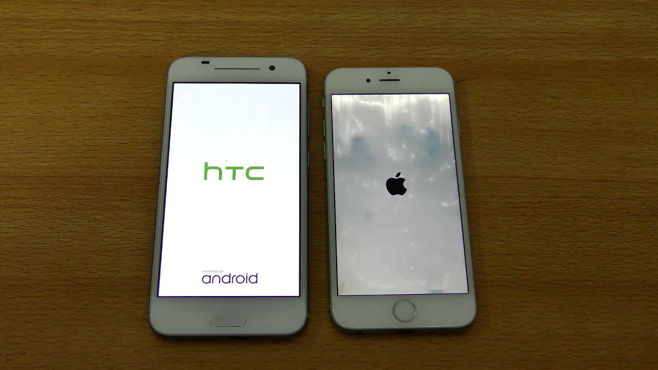 HTC One A9 vs iPhone 6 - Speed & Camera Test (4K)