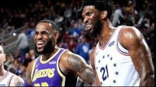 Los Angeles Lakers vs Philadelphia 76ers NBA Full Highlights (11th February 2019)