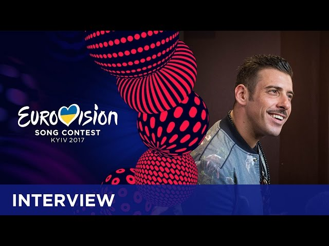 Francesco Gabbani (Italy): 'I came up with the dance routine myself'