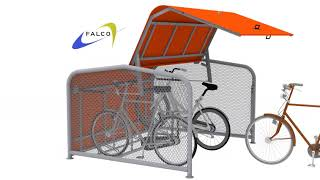 FalcoPod Bike Hangar Animation Video