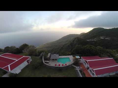 Villa Fairview, rental, on the beautiful Caribean island Saba