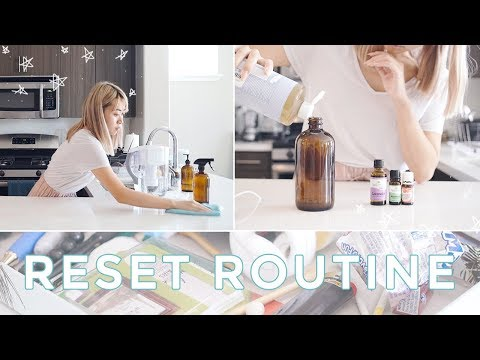 Reset Day | Get Your Life Together + Cleaning Routine  ✨