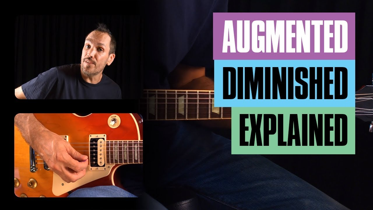 How To Use Augmented Chords Guitar Tricks Youtube