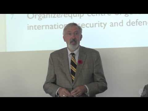 Toward a New International Security and Defence Policy for Canada