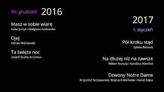 grudzień 2016 i styczeń 2017 - Studio Accantus